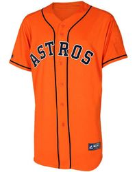 Majestic Boys Houston Astros Blank Replica Jersey - Lyst