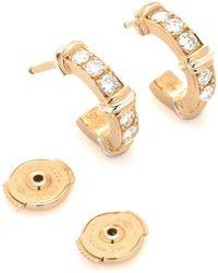 Cartier Contessa Pierced Earrings - Lyst