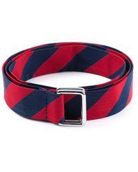 DSquared² Diagonal Stripe Belt - Lyst