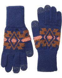 Pendleton Blue Texting Glove - Lyst