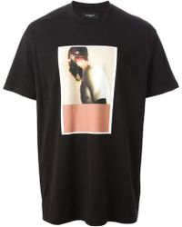 Givenchy Graphic Print Tshirt - Lyst