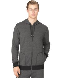Calvin Klein Mens Long-sleeve French Terry Lounge Hoodie - Lyst
