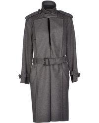 Celine Gray Coat - Lyst