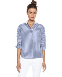 Rag & Bone Jo Anne Cotton Shirt - Lyst
