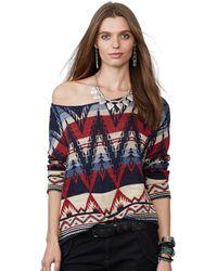 Denim & Supply Ralph Lauren Multicolor Southwestern-print Sweater - Lyst