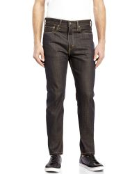 Levi's 522 Slim Fit Tapered Jeans black - Lyst