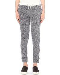 Atea Oceanie - Slim-fit Cotton-jersey Jogging Bottoms - Lyst