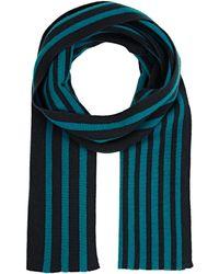 Armand Diradourian - Men's Striped Rib-knit Scarf - Lyst