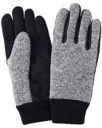 Uniqlo Heattech Lining Knitted Fleece Gloves - Lyst
