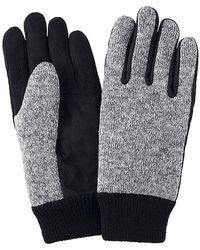 Uniqlo Heattech Lining Knitted Fleece Gloves - Lyst