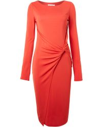 Alice By Temperley Long Sleeved Jersey Wrap Dress - Lyst