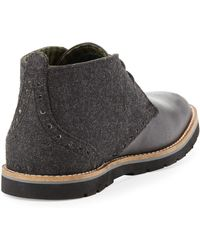 Ben Sherman | Masters Leather/wool Chukka Boot | Lyst