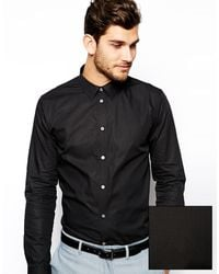 Paul Smith Paul Smith Shirt in Poplin in Tailored Fit - Lyst