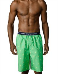 Polo Ralph Lauren Polo Player Sleep Shorts - Lyst