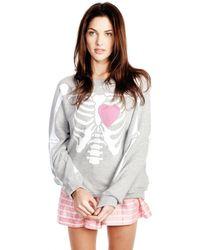 Wildfox My Beating Heart Kim'S Sweater My Beating Heart Kim'S Sweater - Lyst