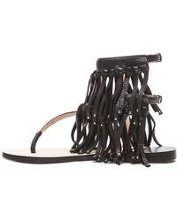 By Malene Birger - Nuntaga Leather Sandals - Lyst