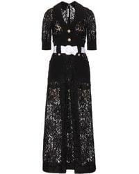 Alessandra Rich Lace Dress - Lyst