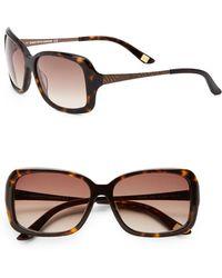 Saks Fifth Avenue - 57mm Square Sunglasses - Lyst