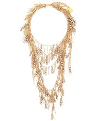 Assad Mounser 'Whisper' Fringe Pearl Necklace - Lyst