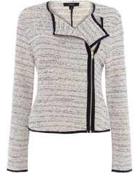 Therapy Drape Boucle Jacket - Lyst