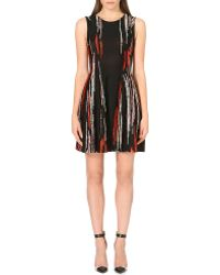 Issa Streak Print Shift Dress - Lyst