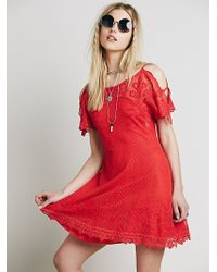 Free People French Quarter Dress - Lyst