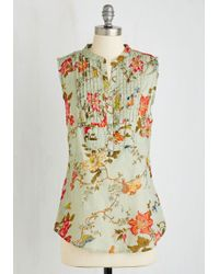 Magazine Clothing Co., Inc. - On Your Roam Time Tunic In Aviary - Lyst