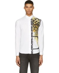 McQ by Alexander McQueen White Swallow Filmstrip Shirt - Lyst