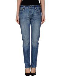 Wesc Denim Trousers blue - Lyst