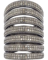 Carole Shashona - Lotus Seven Blessings Cage Ring - Lyst