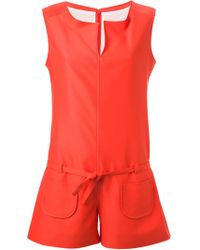 Courreges - Sleeveless Playsuit - Lyst