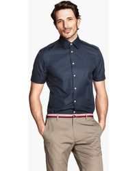 H&M Premium Cotton Shirt - Lyst