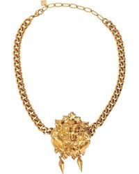Ela Stone - Lion Nala Necklace - Lyst