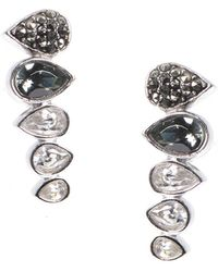 Judith Jack - Im All Ears Crystal Crawler Earrings - Lyst
