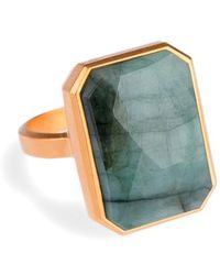 Ringly - Bluetooth Smart Ring - Emerald - Lyst
