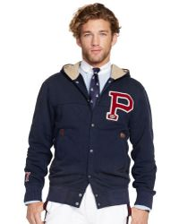 Polo Ralph Lauren Hooded Bench Coat - Lyst