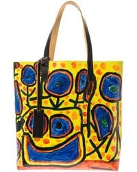 Marni Christophe Joubert 2 Pvc and Leather Tote - Lyst
