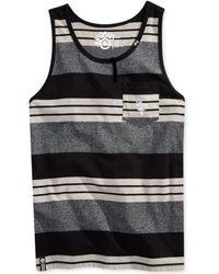 LRG Big and Tall Cc Striped Pocket Tank - Lyst