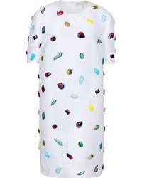 Stella McCartney White Kasey Dress - Lyst