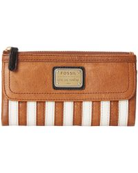 Fossil Emory Clutch brown - Lyst