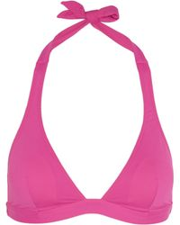 Violet Lake - Ryder Padded Triangle Bikini Top - Lyst