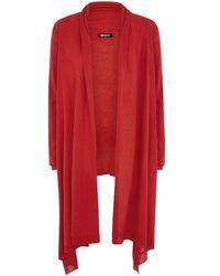 DKNY Long Sleeve Modern Cosy Cardigan - Lyst