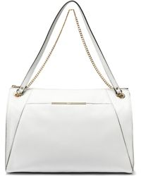 DKNY Tumbled Leather Square Hobo - Lyst