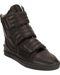 Strange Matter - Triple Strap Hightop Trainer - Lyst