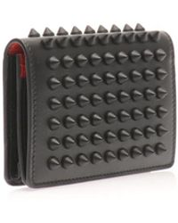 Christian Louboutin Milos Leather Cardholder - Lyst