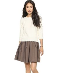 Marc By Marc Jacobs Lucinda Sweater Antique White - Lyst