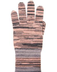 Missoni Striped Woolblend Gloves - Lyst