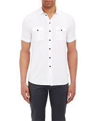 Armani Short-Sleeve Shirt - Lyst