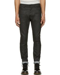 Diesel Coated Tephhar Jeans - Lyst