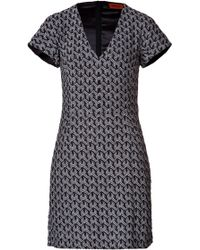 Missoni Printed Viscose Dress - Lyst